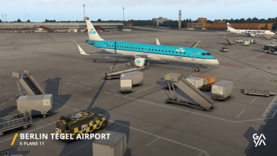 EDDT Berlin-Tegel Airport - X-Plane 11 screenshot