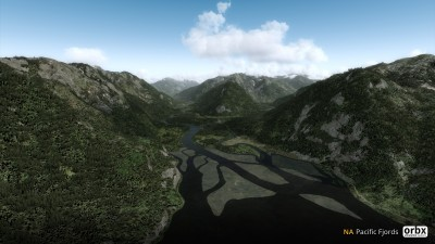 NA Pacific Fjords screenshot