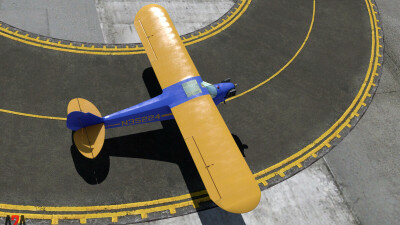 A2A J-3 Cub (P3D Professional) screenshot