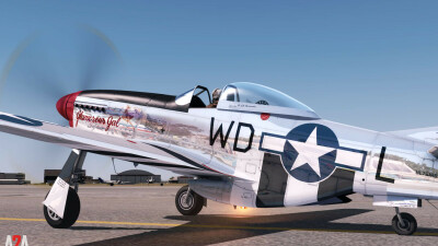 A2A P-51D Civilian (P3D Professional) screenshot