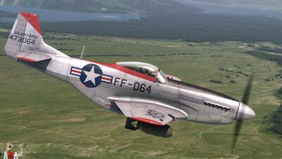 A2A P-51D Military (P3D Professional) screenshot