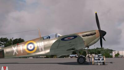 A2A Spitfire MkI-II (P3D Professional) screenshot