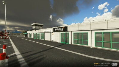EGPN Dundee Airport - Microsoft Flight Simulator screenshot