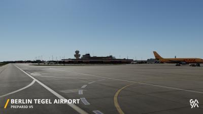 EDDT Berlin-Tegel Airport screenshot