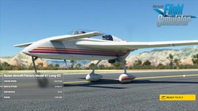 IndiaFoxtEcho Long-EZ screenshot