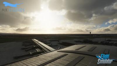 EIDW Dublin Airport - Microsoft Flight Simulator screenshot