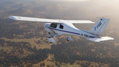 IRIS Simulations Jabiru J160/J170 screenshot