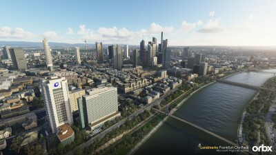 Landmarks Frankfurt City Pack - Microsoft Flight Simulator screenshot