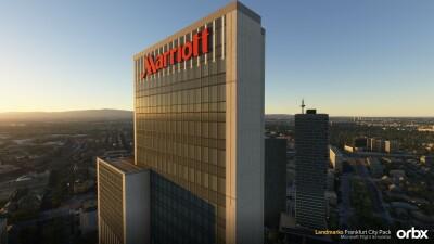 Landmarks Frankfurt City Pack - Microsoft Flight Simulator screenshot
