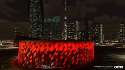 Landmarks Dubai City Pack - Microsoft Flight Simulator screenshot