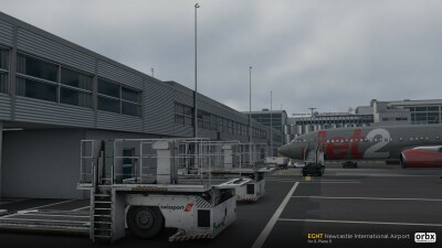 EGNT Newcastle International Airport - X-Plane 11 screenshot