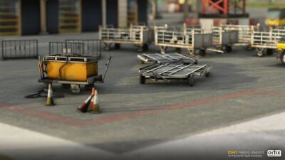 ESMS Malmo Airport - Microsoft Flight Simulator screenshot