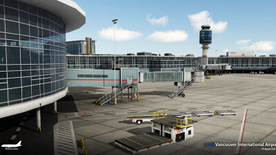 CYVR Vancouver International Airport screenshot