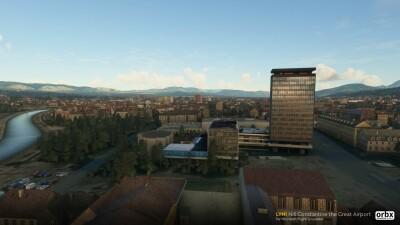 LYNI Niš Constantine the Great Airport - Microsoft Flight Simulator screenshot