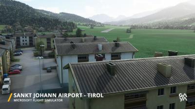 LOIJ Sankt Johann Airport - Microsoft Flight Simulator screenshot