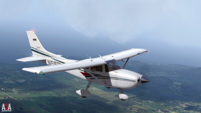 A2A C182 (P3D Professional) screenshot
