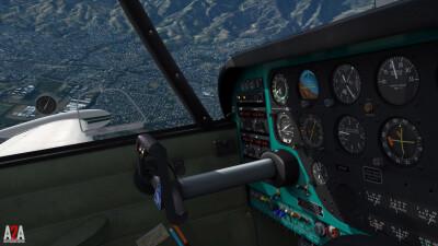 A2A Comanche (P3D Academic) screenshot