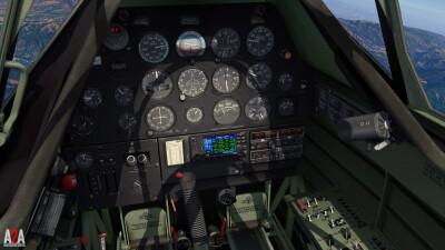 A2A T-6 (P3D Academic) screenshot