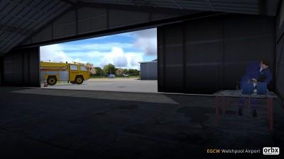 EGCW Welshpool Airport screenshot