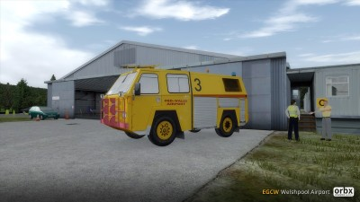 EGCW Welshpool Airport screenshot