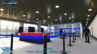 LPVL Maia-Vilar de Luz Airport - Microsoft Flight Simulator screenshot