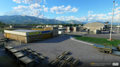 LFKB Bastia-Poretta Airport - Microsoft Flight Simulator screenshot