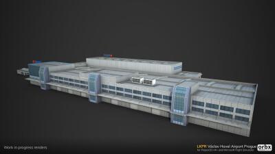 LKPR Václav Havel Airport Prague screenshot