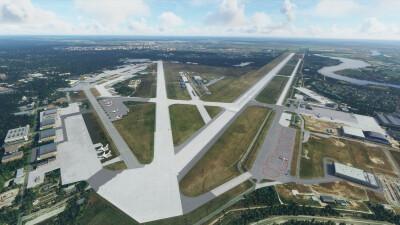 Landmarks Moscow - Microsoft Flight Simulator screenshot