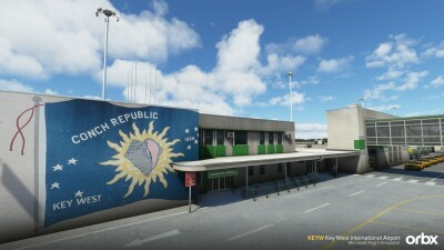 KEYW Key West International Airport - Microsoft Flight Simulator screenshot