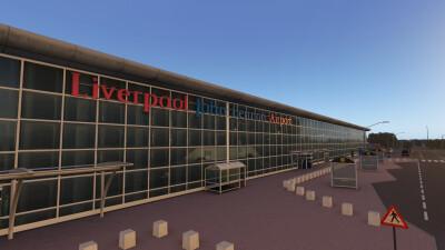 EGGP Liverpool John Lennon Airport - X-Plane 11 screenshot