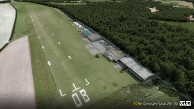 EGHA Compton Abbas Airfield screenshot