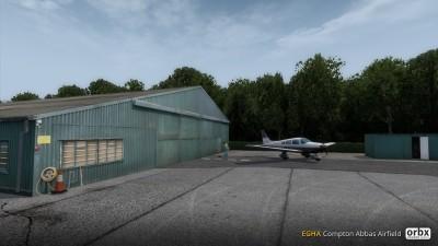 EGHA Compton Abbas Airfield screenshot