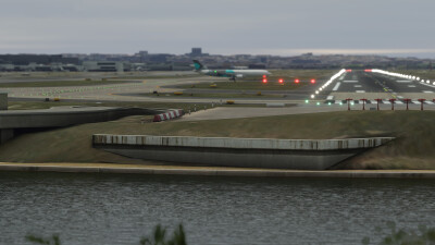 YSSY Sydney International Airport - Microsoft Flight Simulator screenshot