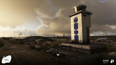 EGMC London Southend Airport - Microsoft Flight Simulator screenshot