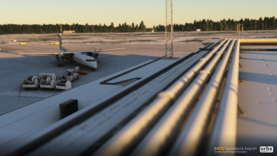 ENTO Sandefjord Airport - Microsoft Flight Simulator screenshot