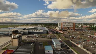 EGGP Liverpool John Lennon Airport - Microsoft Flight Simulator screenshot