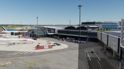 LFLL Lyon-Saint-Exupery Airport screenshot