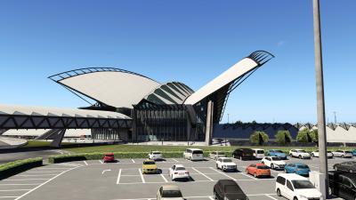 LFLL Lyon–Saint-Exupéry Airport - X-Plane 11 screenshot