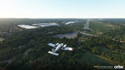 EGHI Southampton Airport - Microsoft Flight Simulator screenshot