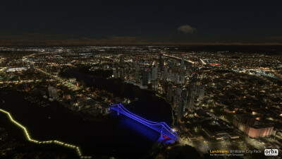 Landmarks Brisbane City Pack - Microsoft Flight Simulator screenshot