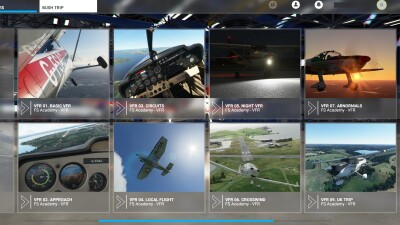 FS Academy VFR screenshot