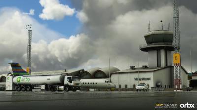 ESSB Stockholm Bromma Airport - Microsoft Flight Simulator screenshot