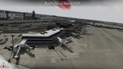 RJAA Narita International Airport screenshot