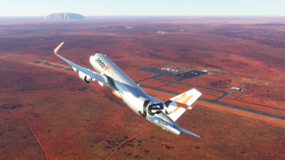 YAYE Ayers Rock Airport - Microsoft Flight Simulator screenshot