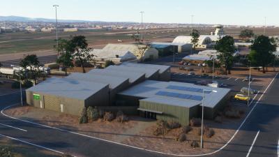 YPPF Parafield Airport - Microsoft Flight Simulator screenshot
