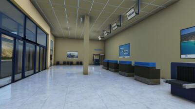 LGIK Ikaria National Airport - Microsoft Flight Simulator screenshot