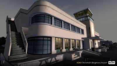 EGKA Shoreham (Brighton) Airport screenshot