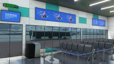 UKOO Odesa International Airport - Microsoft Flight Simulator screenshot