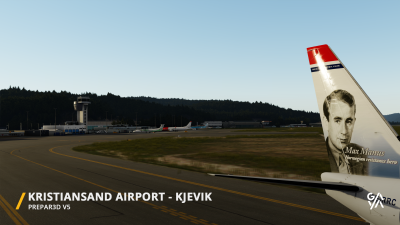 ENCN Kristiansand Airport screenshot