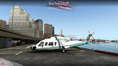 Landmarks New York City - X-Plane 11 screenshot